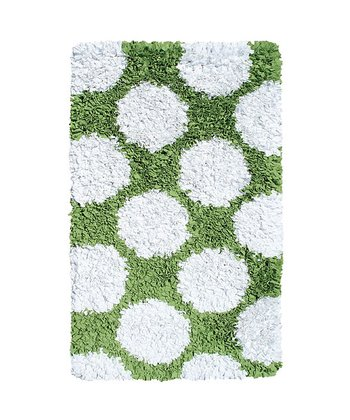 The Rug Market Spring Green & White Polkamania Rug