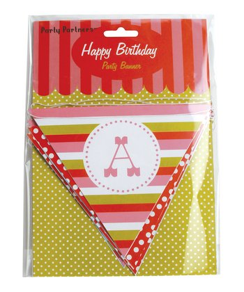 Sweet Soiree 'Happy Birthday' Banner