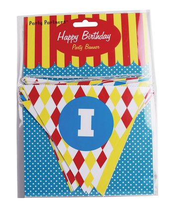 Big Top 'Happy Birthday' Banner