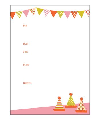 Sweet Soiree Invitation - Set of 12