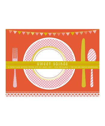 Sweet Soiree Paper Place Mat - Set of 12