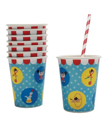 Big Top Paper Cup - Set of 16