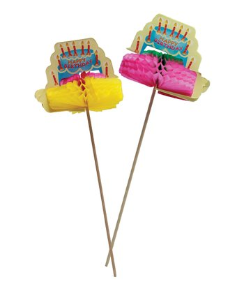 Birthday Cake Pick Set
