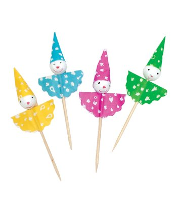 Clown Party Pick Set Set