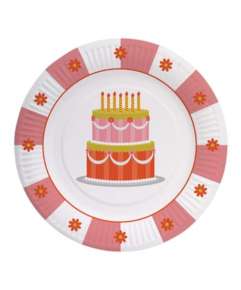 Sweet Soiree Paper Plate - Set of 16