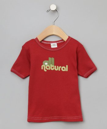 Cranberry 'All Natural' Organic Tee - Infant