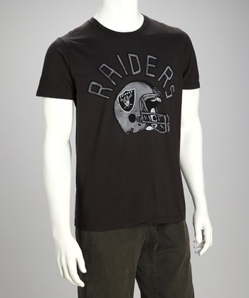 Black Oakland Raiders Tee - Men