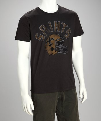 Black New Orleans Saints Tee - Men