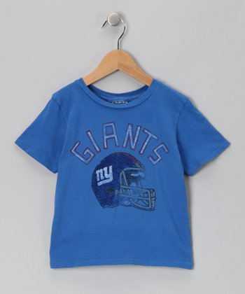 Light Blue New York Giants Tee - Toddler