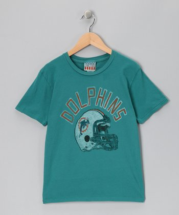 Teal Miami Dolphins Tee - Toddler & Kids