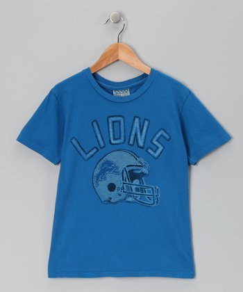 Royal Blue Detroit Lions Tee - Toddler