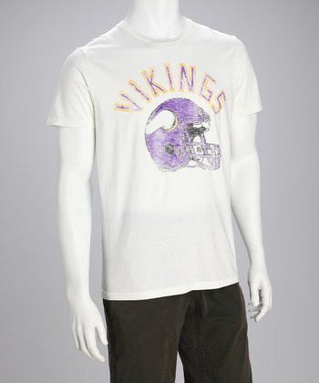 Minnesota Vikings White Tee