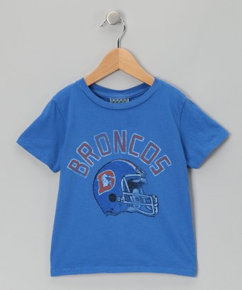 Light Blue Denver Broncos Tee - Toddler
