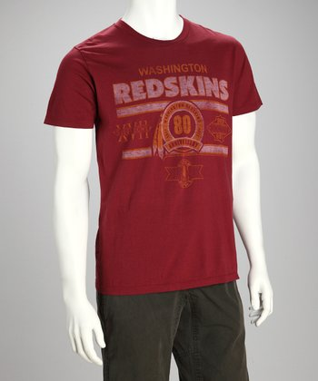 Washington Redskins Crimson Super Bowl Tee