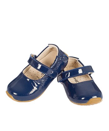 Navy Patent Mary Jane