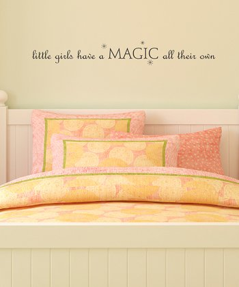 Little Girls Magic Wall Quotes™ Decal