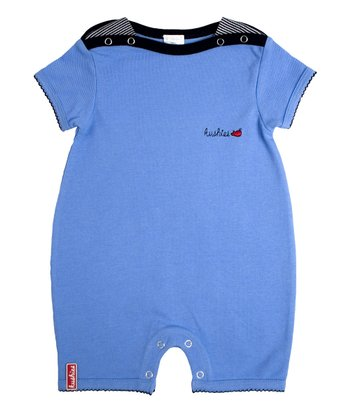 Blue Nautical Romper - Infant