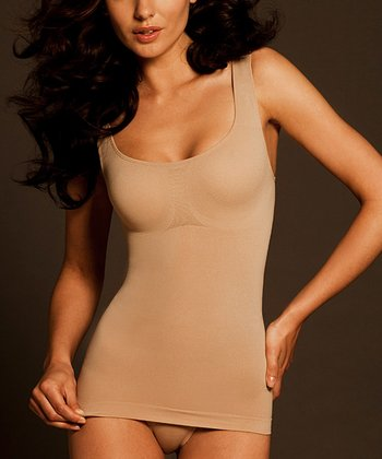 Nude Seamless Tank-Tastic Long Shaper Tank - Women