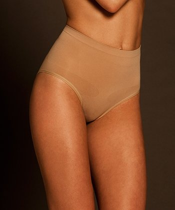 Nude Seamless Superior Derriere Shaper Briefs - Women