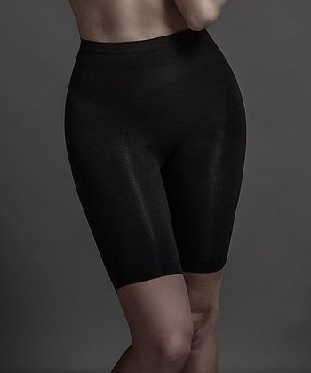 Black Seamless Catwalk Shaper Shorts