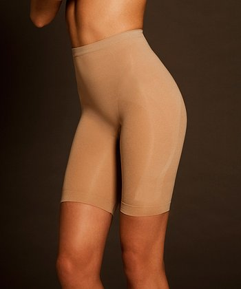 Nude Seamless Catwalk Shaper Shorts