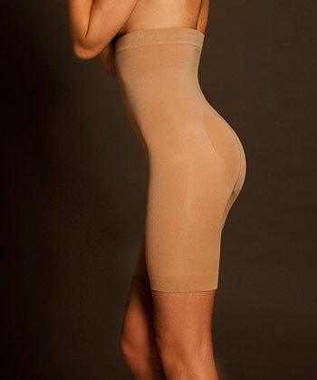 Nude Seamless Catwalk Shaper High-Waisted Shorts