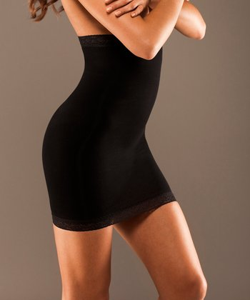 Black High-Waisted Shaper Slip