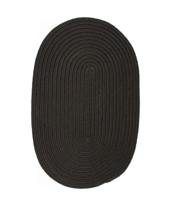 Black Boca Raton Indoor/Outdoor Rug