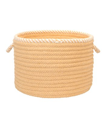 Pale Banana Twist & Shout Basket