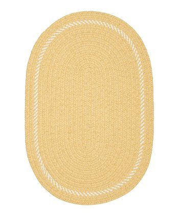 Pale Banana Twist & Shout Rug