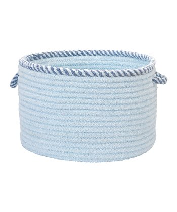 Sky Blue Twist & Shout Basket