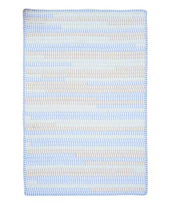 Starlight Ticking Stripe Rug