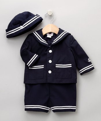Good Lad Boys - Navy Sailor Set 12mo