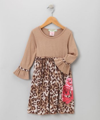 Big Citizen by Baby Nay - Brown Maya Modal Dress 3T