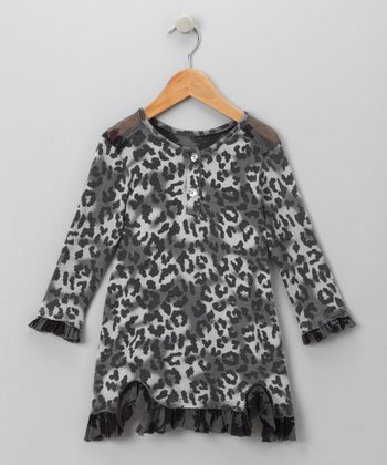 Big Citizen by Baby Nay - Charcoal Annalise Dress 12Y
