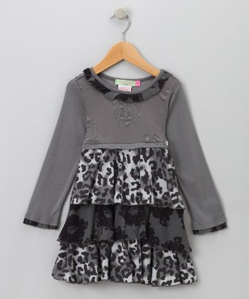 Big Citizen by Baby Nay - Charcoal Jillian Dress 3T