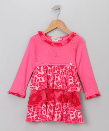 Big Citizen by Baby Nay - Pink Jillian Dress 3T