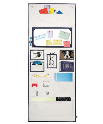 Navy Wall Organizer