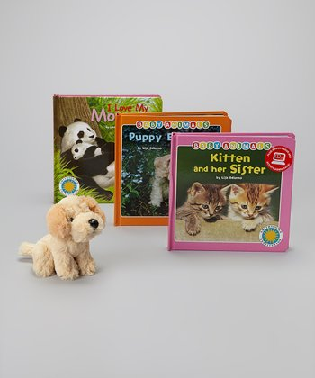 Smithsonian Institution Animal Board Book & Toy Set