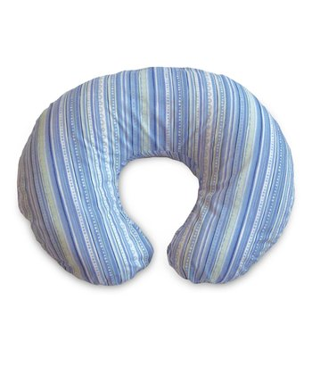Blue Stripe Feeding Support Pillow