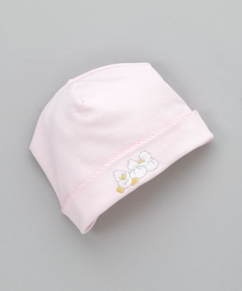 Pink Three Duckling Beanie