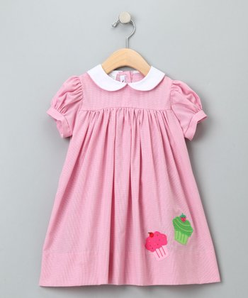 Pink Cupcakes Float Dress - Infant, Toddler & Girls