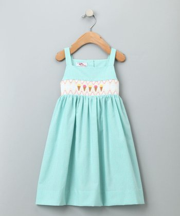 Aqua Sweet Treat Sundress - Infant, Toddler & Girls