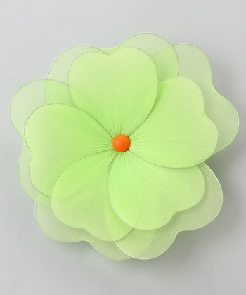 Green Multilayer Hanging Flower