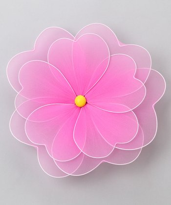 Pink Multilayer Hanging Flower