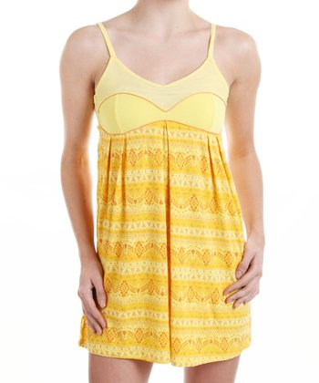 Yellow Spice It Up Chemise