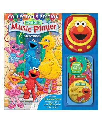 40th Anniversary Collector's Edition Sesame Street Book & Music Player