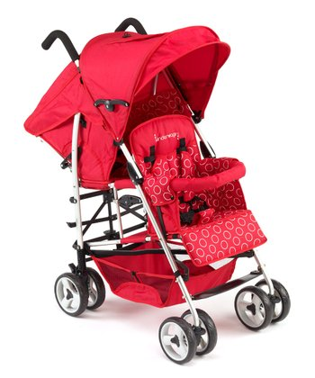 Red KinderWagon Hop  Stroller