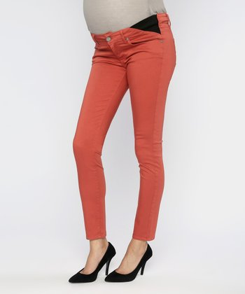 Urchin Verdugo Under-Belly Maternity Cropped Jeans