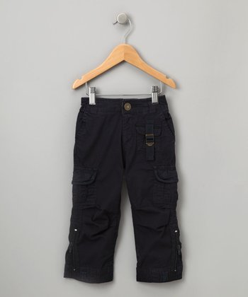 Navy Doyle Cargo Pants - Toddler & Boys